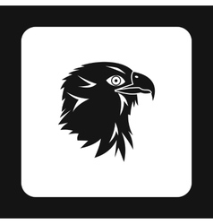 Eagle icon simple style vector image
