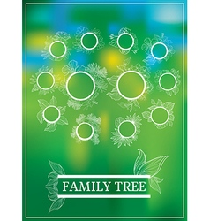 Family tree 1 vector