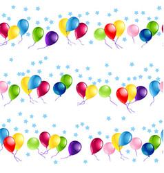 Happy birthday seamless vector