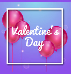 Happy valentines day greetings card design vector