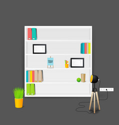 modern business conversation room mockup template vector image