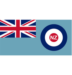 New zealand air force ensign vector