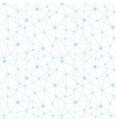 Pastel blue network web texture seamless pattern vector