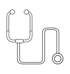Stethoscope healthcare icon image vector