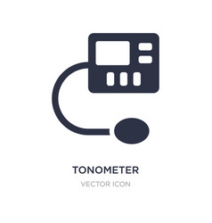 Tonometer icon on white background simple element vector