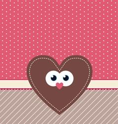 Cute valentine design vector
