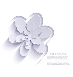 flower background Eps10 vector image vector image