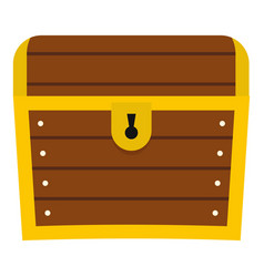 chest icon isolated vector image vector image