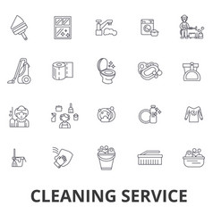 cleaning service house cleaning office cleaning vector image