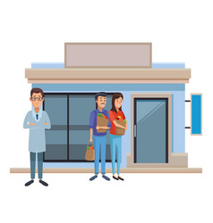drug store business vector image