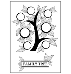Family tree 2 vector