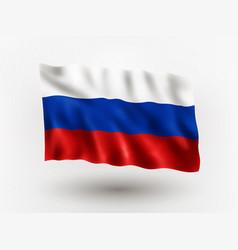 Flag russia vector
