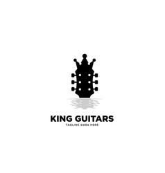 King guitars logo template vector