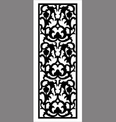 ornament for interior design vector image
