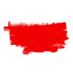 Red grunge banner vector