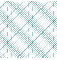 retro pattern with simple line geometric vector image