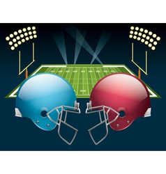American Football Game vector image vector image
