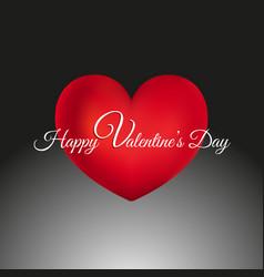 decorative valentines day background vector image