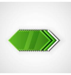Green pointer vector image