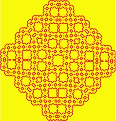China pattern vector