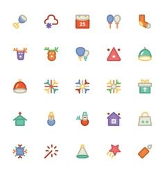 Christmas Icons 6 vector image