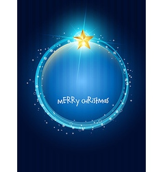 creative christmas design vector image