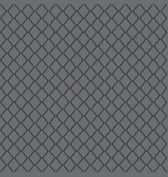 Gray moroccan motif tile pattern vector