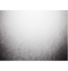 low poly gray noise background vector image