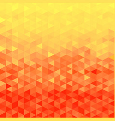 orange crystal background vector image