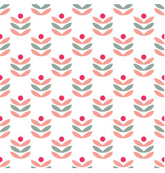 Seamless pattern abstract berries vector