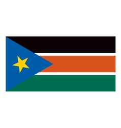 South Sudan flag vector