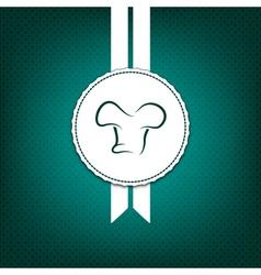 Creative restaurant menu cover vector image vector image