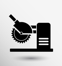 Saw tool icon button logo symbol concept vector