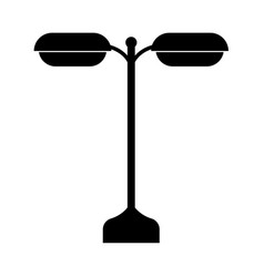 street light or lamp vector image