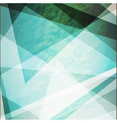 Abstraction retro grunge triangles vector