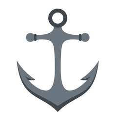 Anchor icon isolated vector