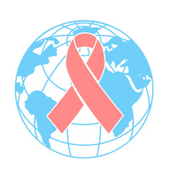 concept breast health day world vector image