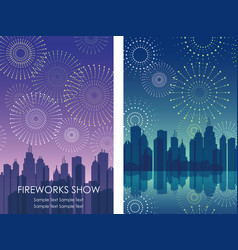 firework workshop 1 vector image