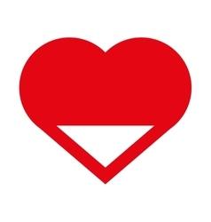 Heart icon Love design graphic vector