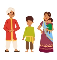 indian people vector image