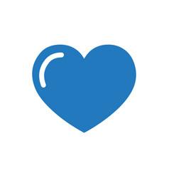 Love heart icon vector