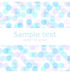Pastel spring abstract background with copyspace vector image