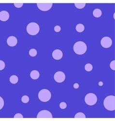Polka dot lilac seamless pattern vector