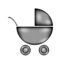 pram sign icon vector image