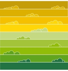 Rainbow colored vector image