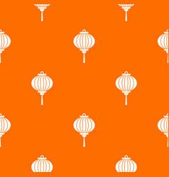 red chinese lantern pattern seamless vector image