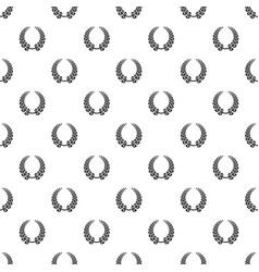 wreath pattern seamless vector image