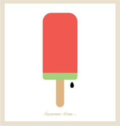 summer ice cream vector image