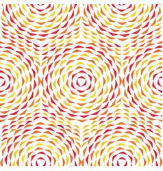 circles ornament vector image