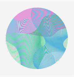 abstract waves set of transparent wave vector image